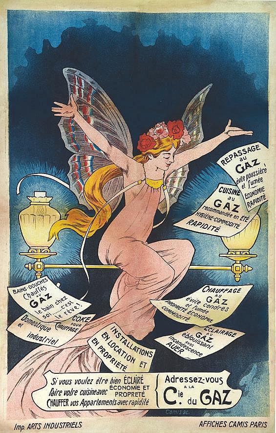 CAMIS SC  Cie du Gaz -     vers 1900