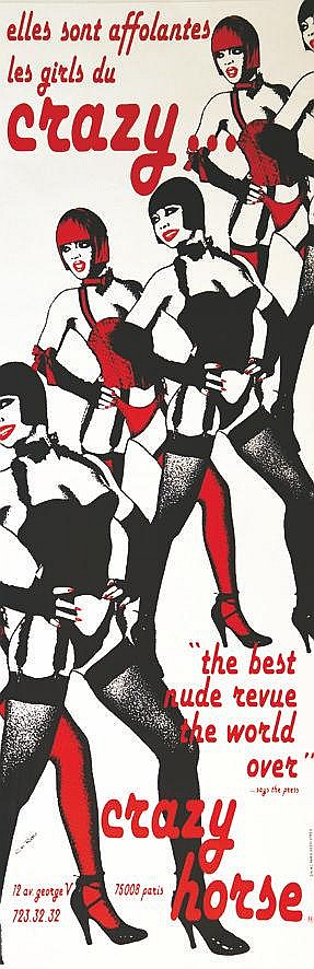 RAU CHARLES  Crazy Horse Elles sont affolantes les Girls     vers 1980