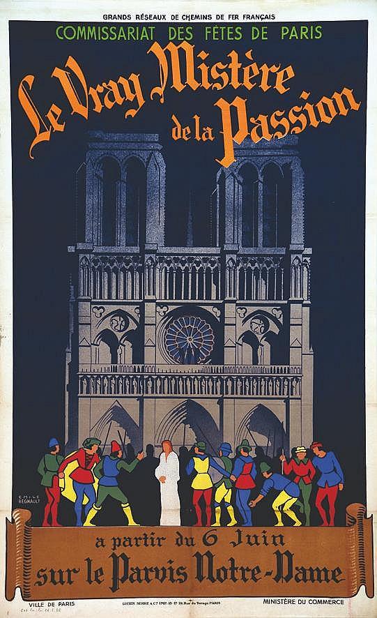 REGNAULT EMILE  Le Vrai Mystère de la Passion     1936