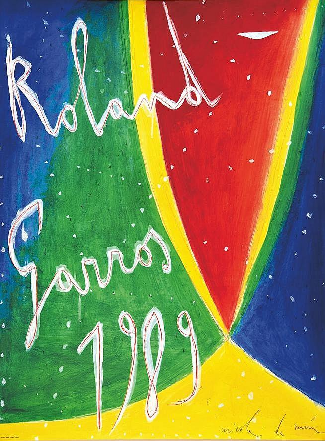 DE MARIA NICOLAS Roland Garros 1989 1989