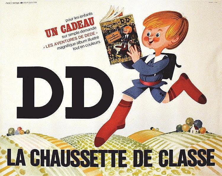 MARTOCQ FRANCIS  DD La Chaussette de Classe     vers 1960