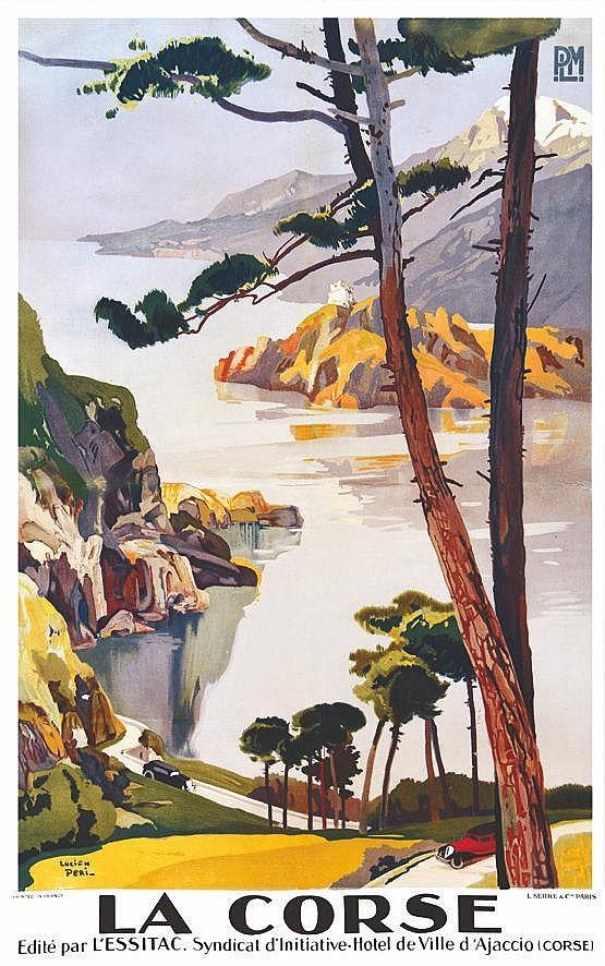 PERI LUCIEN La Corse : ( Les Calanches de Piana & Le Golfe de Porto ) - P.L.M vers 1920