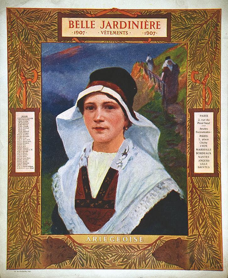 Ariégoise -  La Belle Jardinière     1907