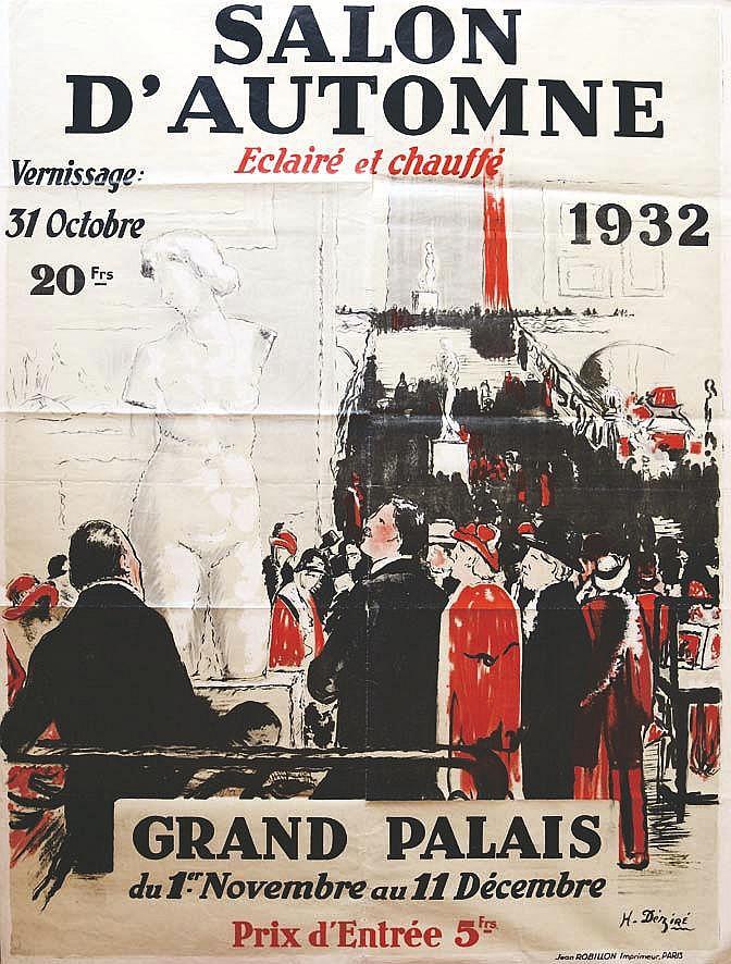 DEZIRE H.  Salon d'Automne 1932     1932