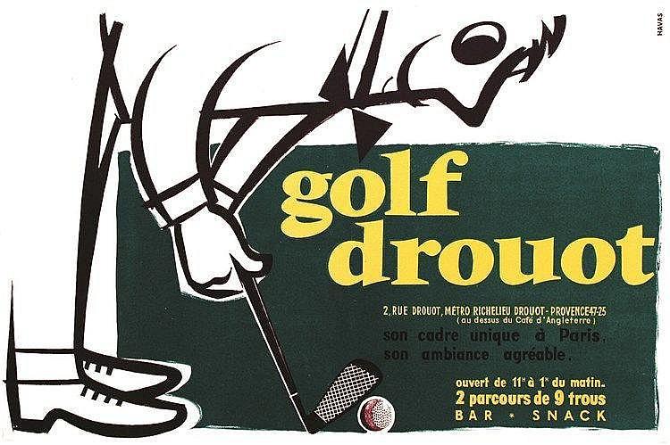 Golf Drouot     vers 1950