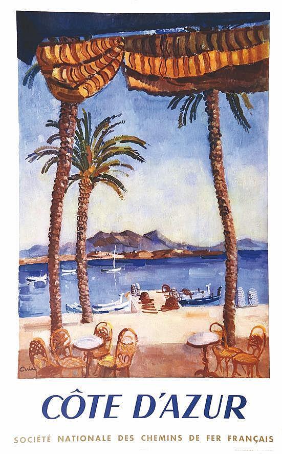 CERIA  Côte d'Azur     1951