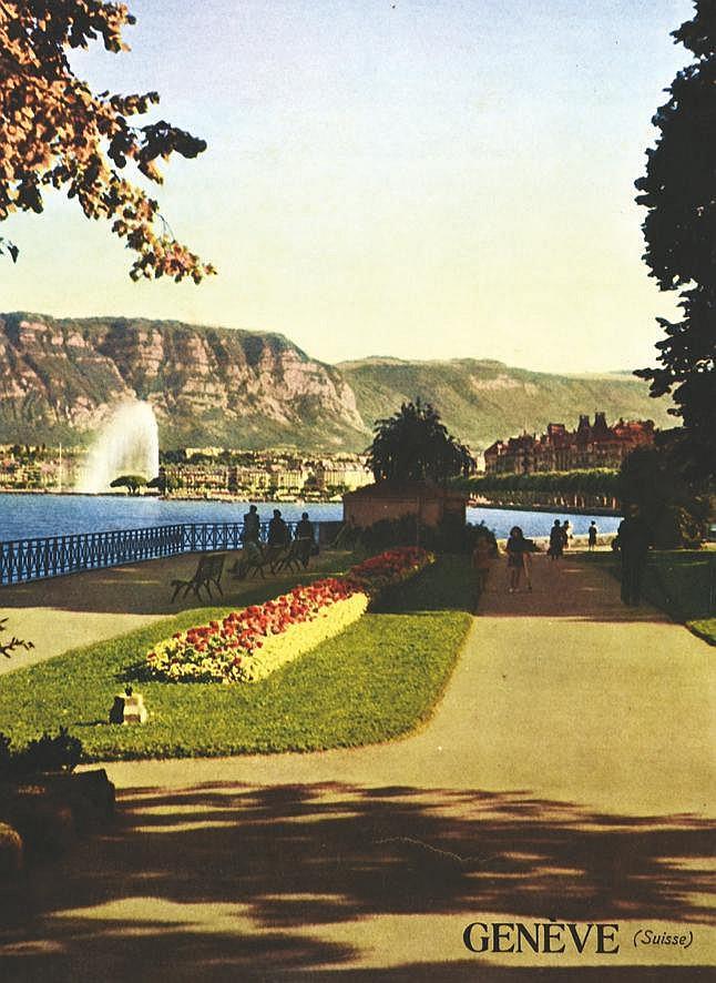 Genève vers 1960