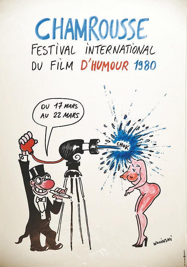 WOLINSKI Chamrousse - Festival International du Film d'humour 1980