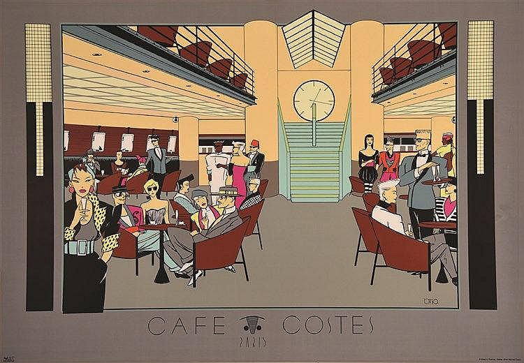 OTSO  Café Coste - Paris     vers 1980