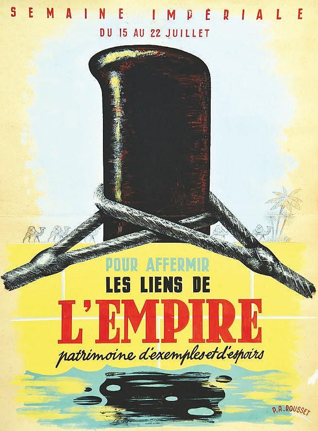 ROUSSET P.A Pour Affermir les Liens de l'Empire, Semaine Impériale