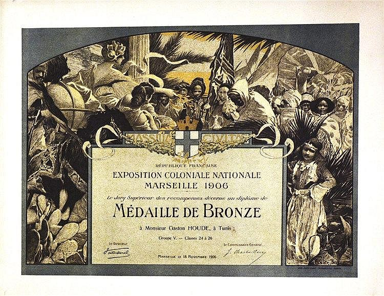 DELLEPIANE Exposition Coloniale Nationale Marseille 1906 1906