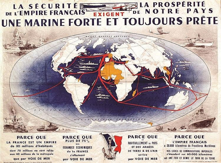 SEBILLE ALBERT Une Marine Forte et Toujours Prete vers 1930