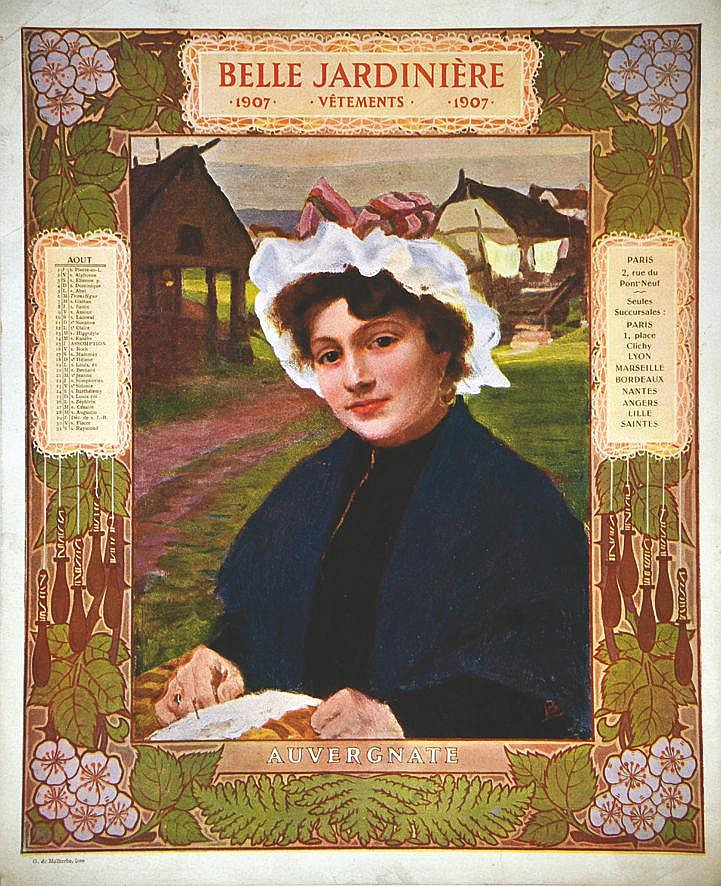 Auvergnate -  La Belle Jardinière     1907
