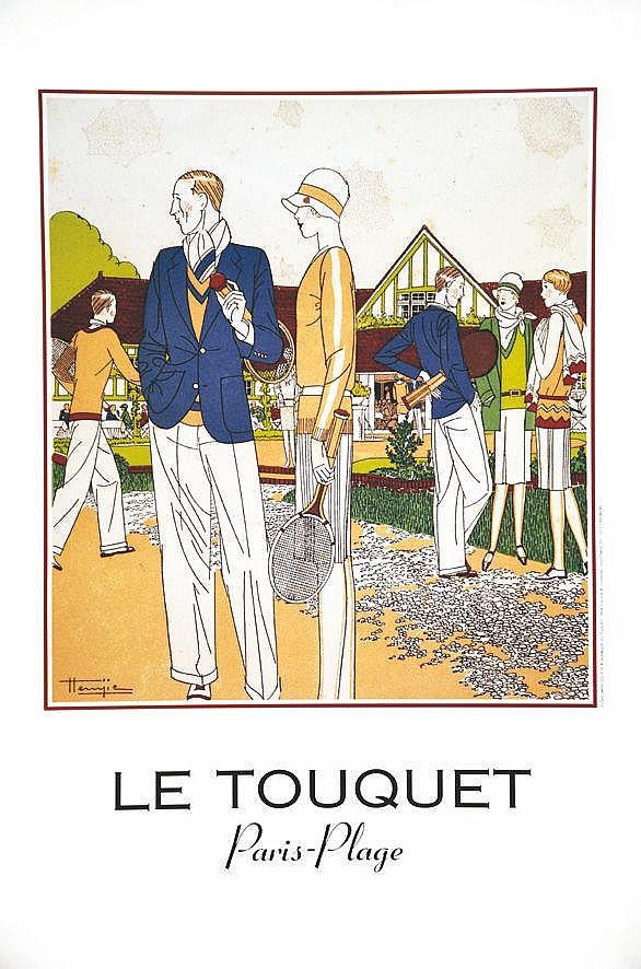 HEMJIE  Le Touquet Paris - Plage     vers 1990