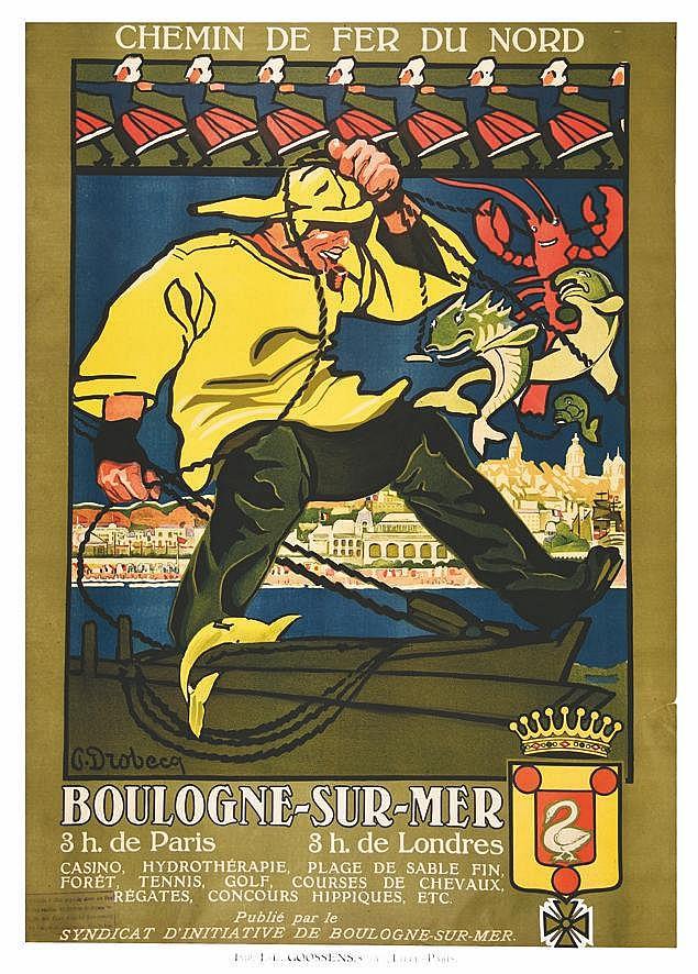 DROBECQ G.  Boulogne-sur-Mer     vers 1900