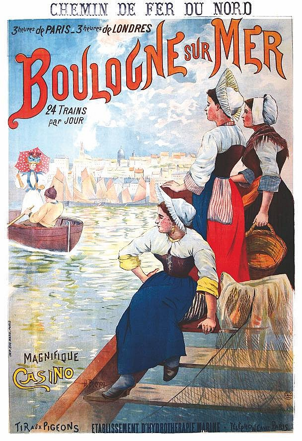 BERNOU Boulogne sur Mer vers 1900