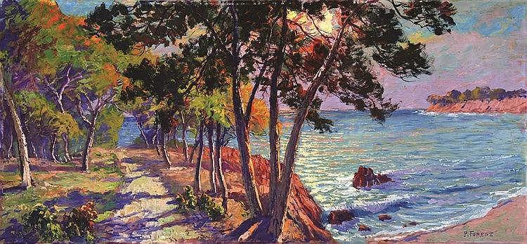 FOREST P.  Saint Tropez - Les Calanques de Ramatuelle     vers 1930