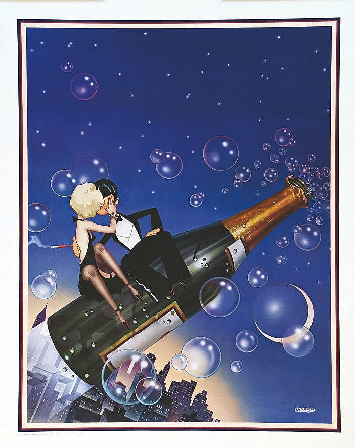 WHITEZD  Champagne Bubbles - Charles White III     1978