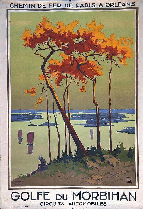 ALO  Golfe du Morbihan     1927