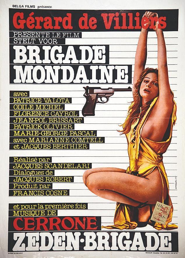 Brigade Mondaine - Gerard de Villiers     vers 1980