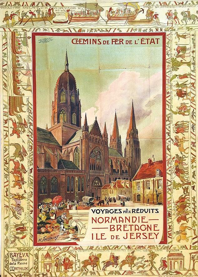 TOUSSAINT H.  Bayeux     vers 1900