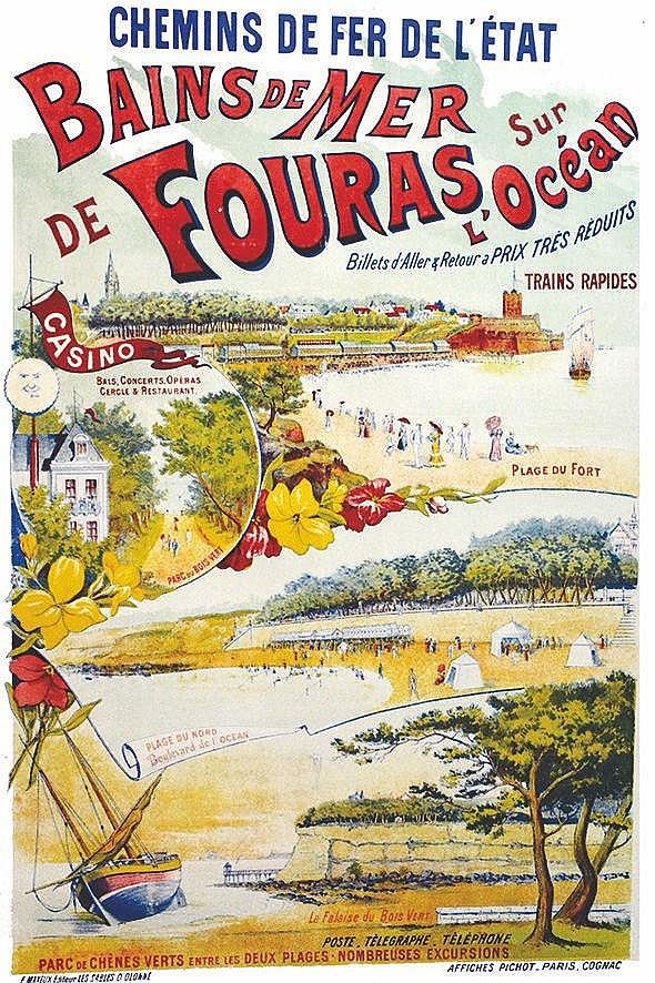 Bains de Mer de Fouras sur l'Océan     vers 1900