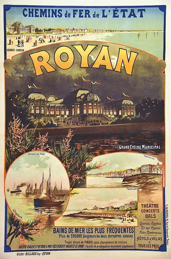 FRAIPONT G.  Royan Casino Municipal     vers 1900