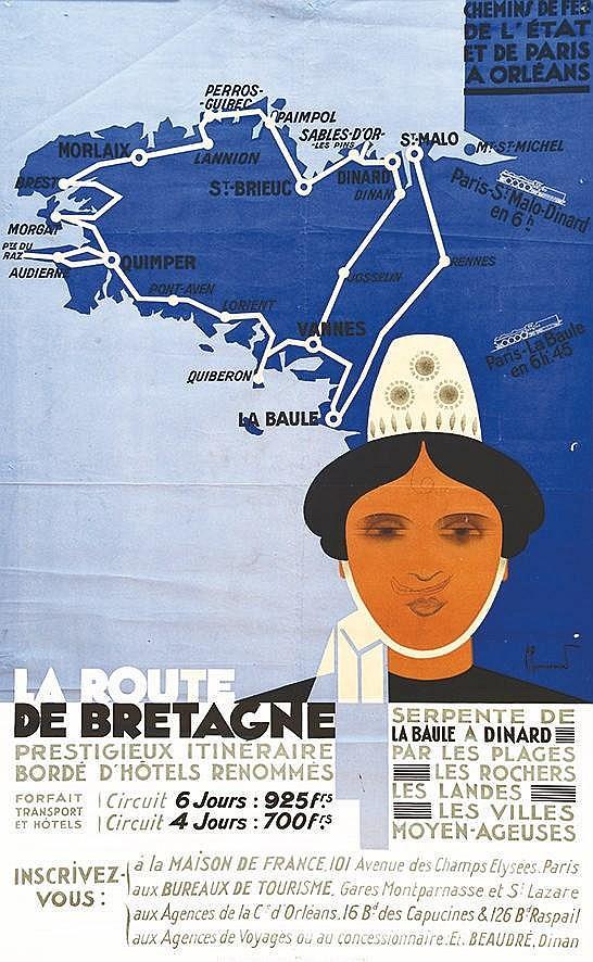 COMMARMOND PIERRE  Bretagne de la Route