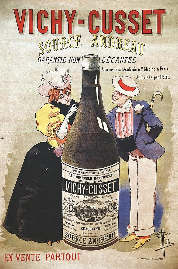 GUILLAUME Vichy - Cusset vers 1900