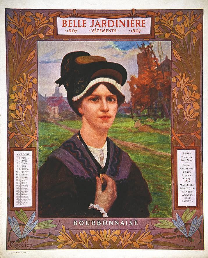 Bourbonnaise -  La Belle Jardinière     1907