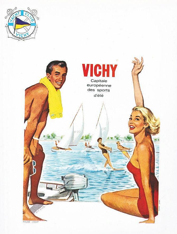 WIRTS BILL Vichy Capitale européenne des Sports d'été vers 1950