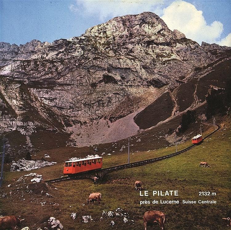 Le Pilate près de Lucerne     vers 1950