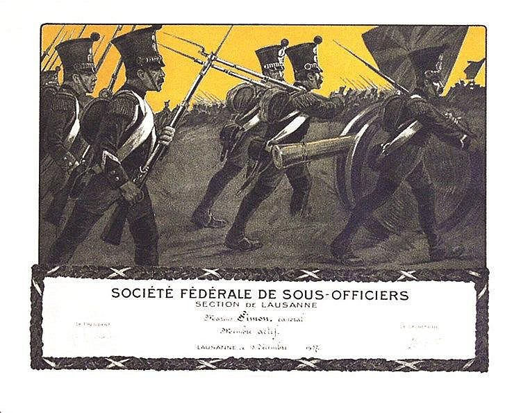 Société Fédérale de Sous-Officier Suisse 1937