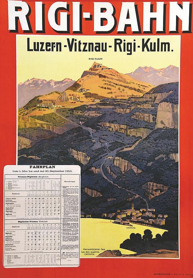 Rigi-Bahn 1910