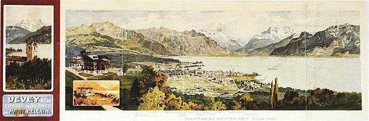Vevey et le Chemin de Fer Electrique du Mont Pèlerin 1903     1903