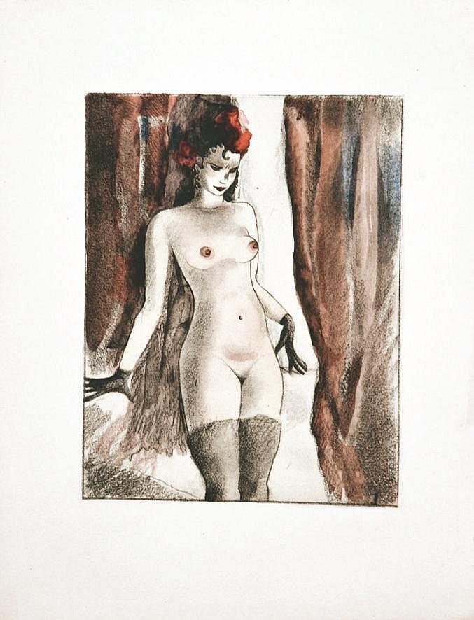 LYDIS MARIETTE  Les Bas     vers 1930