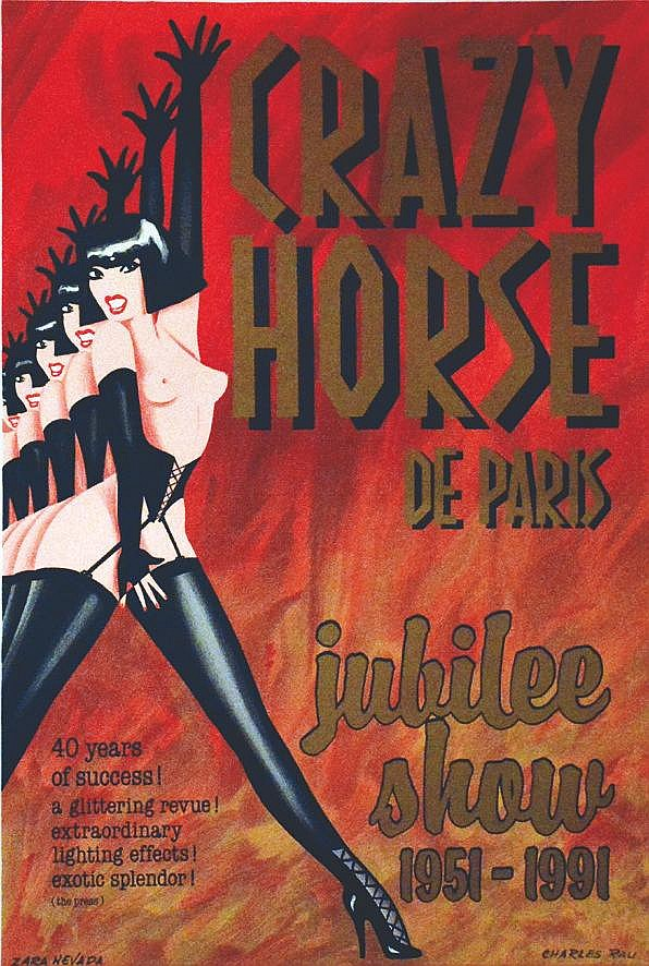 RAU CHARLES  Crazy Horse de Paris - Jubilée 1951-1991, Zara Nevada     1991