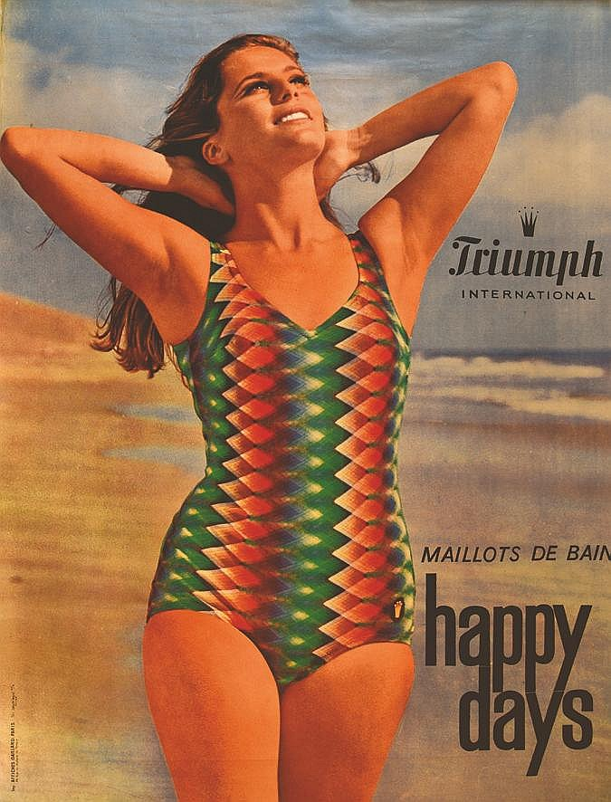 Triumph Maillots de Bains Happy days     1967
