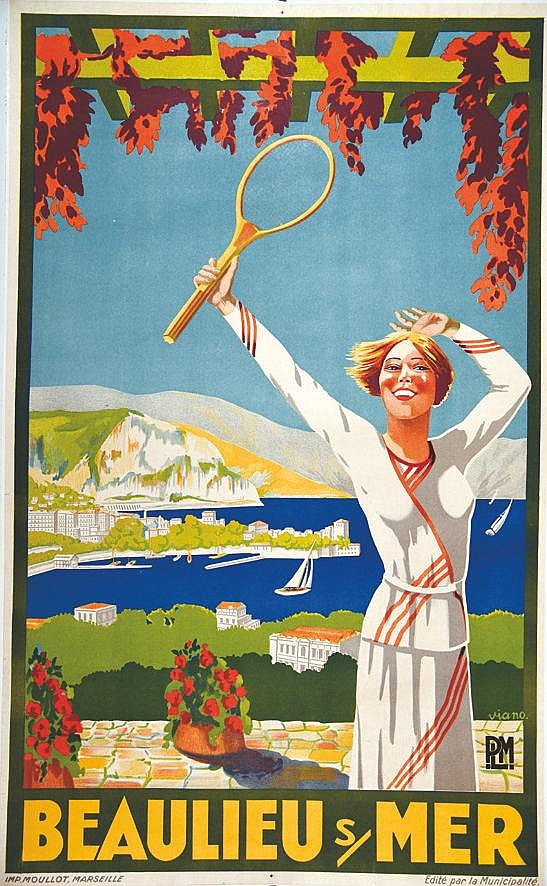 VIANO  Beaulieu sur Mer     vers 1930