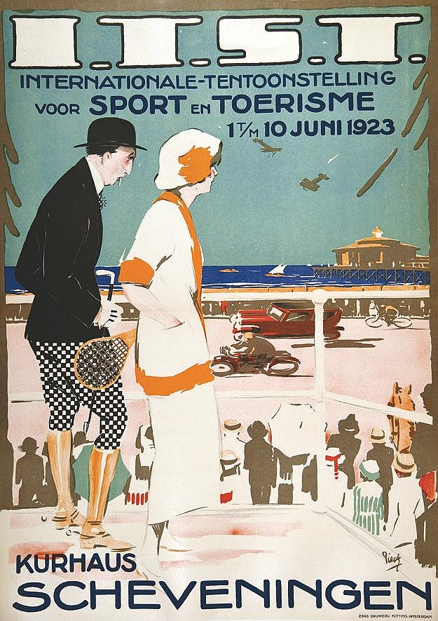 PIECK  ITSI Kurhaus Scheveningen     vers 1930