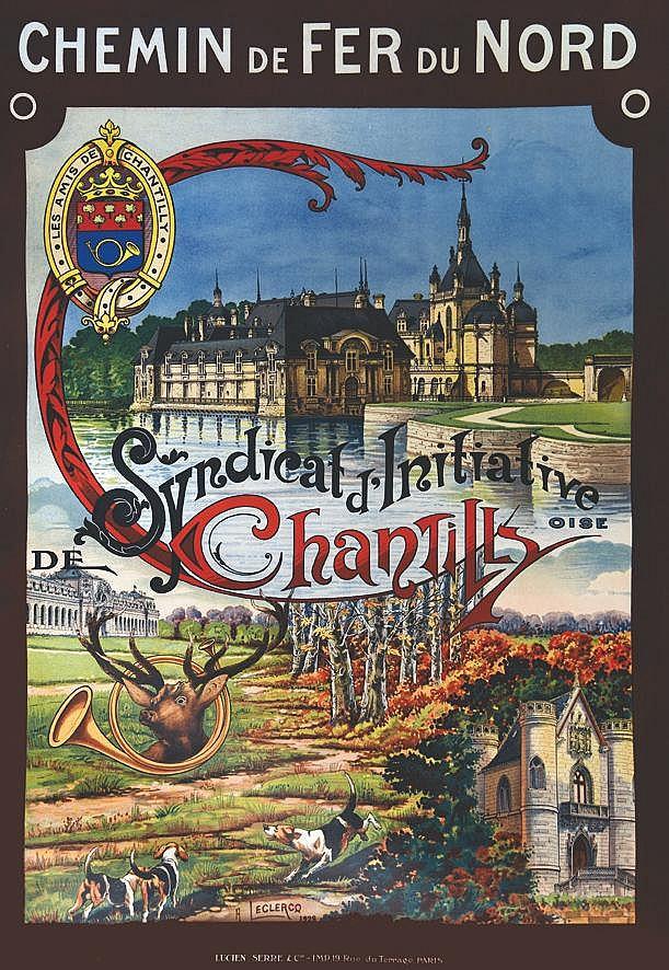 LECLERCQ A.  Chantilly     1928