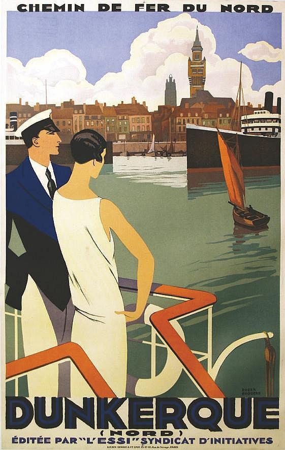 BRODERS ROGER Dunkerque vers 1930