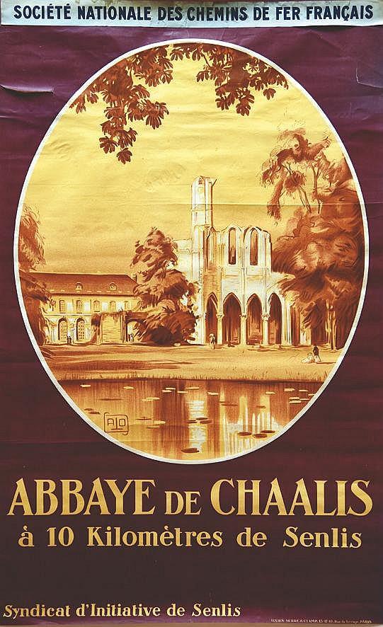 ALO Abbaye de Chaalis vers 1920