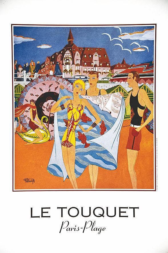 Le Touquet Paris - Plage     vers 1990