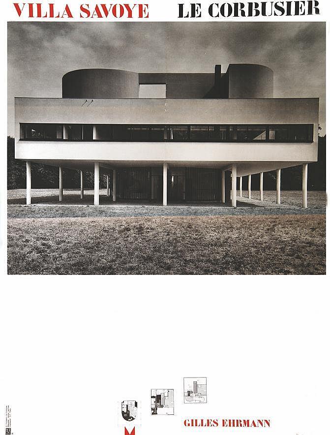 EHRMANN GILLES  Villa Savoye le Corsier     vers 1970