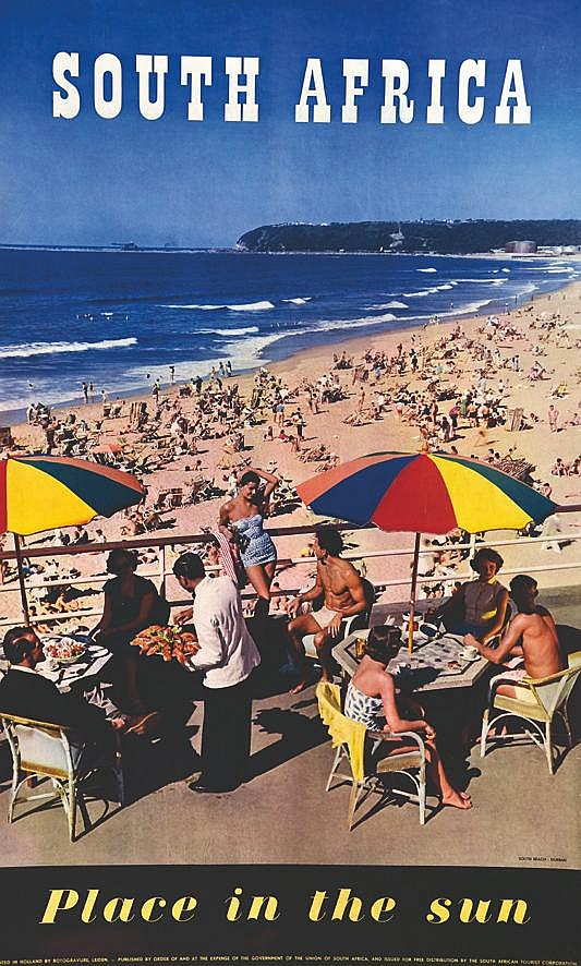 Durban - South Africa - Place in the sun     vers 1950