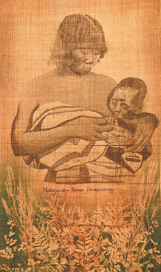 Madagascar - Femme Zat Amanampy     vers 1930