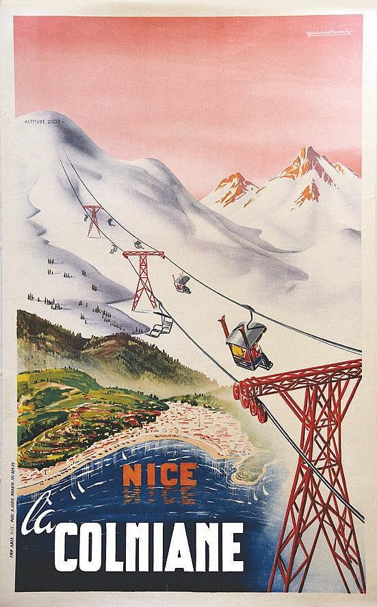 PRANDONI  Nice la Colmiane     vers 1930