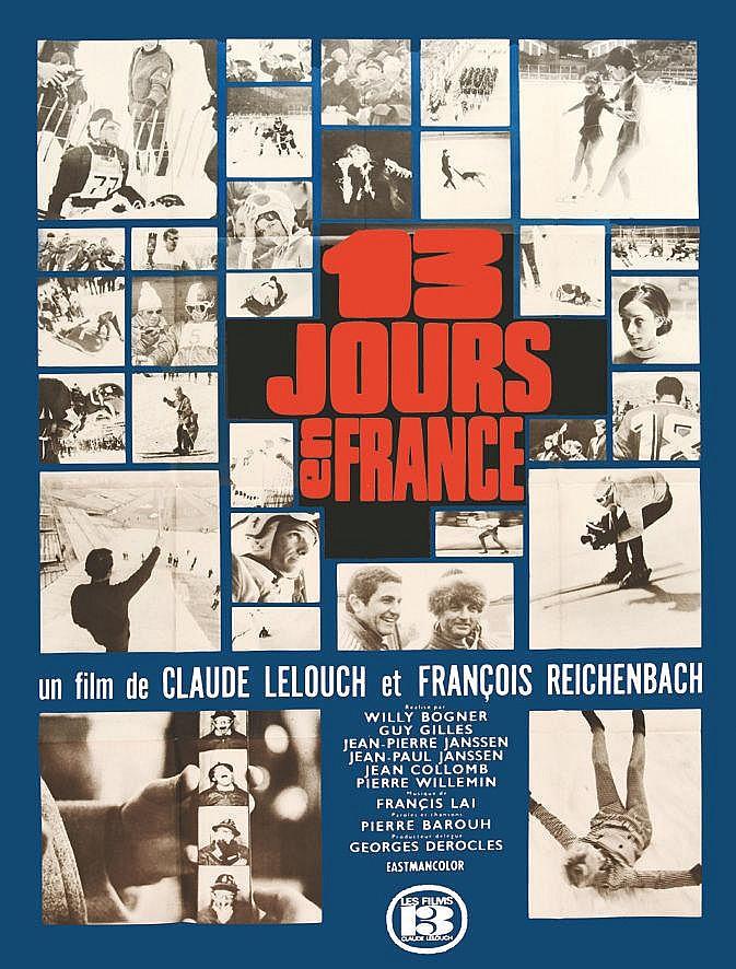 13 Jours en France Jeux Olympiques Grenoble 1968     1968