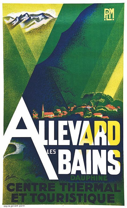 COULON Allevard Les Bains - Centre Thermal Et Touristique Dauphine vers 1930